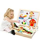 Недорогие -Деревянные пазлы Мультяшная тематика Творчество деревянный 95pcs Детские / дошкольный Подарок