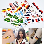 cheap -6pcs Stickers & Tapes Olympic Series Tattoo Stickers