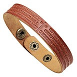 cheap -Leather Bracelet - Ethnic, Fashion Bracelet Black / Coffee / Brown For Daily / Street