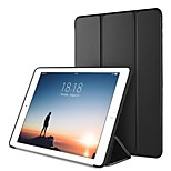 cheap -Case For Apple iPad (2018) / iPad Pro 10.5 with Stand / Magnetic / Origami Full Body Cases Solid Colored Hard PU Leather for iPad (2018)