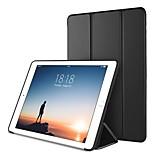 Недорогие -Кейс для Назначение Apple iPad (2018) / iPad Pro 10.5 со стендом / Магнитный / Оригами Чехол Однотонный Твердый Кожа PU для iPad (2018) /