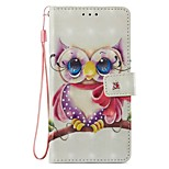 cheap -Case For Xiaomi Redmi Note 5A Mi 5X Card Holder Wallet with Stand Flip Magnetic Full Body Cases Owl Hard PU Leather for Xiaomi Redmi Note