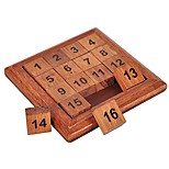 cheap -Wooden Puzzle Other Focus Toy Wooden / Bamboo 1pcs Child's All Gift