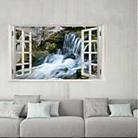 Недорогие -Декоративные наклейки на стены / Наклейки на холодильник - 3D наклейки Пейзаж / 3D На открытом воздухе / Офис