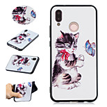 cheap -Case For Huawei P20 lite P20 Pro Pattern Back Cover Cat Butterfly Soft TPU for Huawei P20 lite Huawei P20 Pro Huawei P20 P10 Lite Huawei