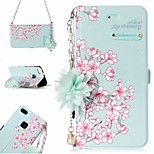 cheap -Case For Huawei P10 Lite P8 Lite (2017) Card Holder Pattern Full Body Cases Flower Hard PU Leather for P10 Lite Huawei P9 Lite P8 Lite