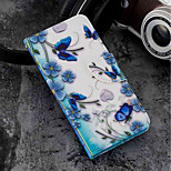 cheap -Case For Xiaomi Xiaomi Mi 6X / Mi 5X Card Holder / Wallet / with Stand Full Body Cases Butterfly Hard PU Leather for Xiaomi Mi 6X(Mi A2)