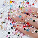 cheap -2pcs Outfits Metallic Crystal Wedding Party Evening Dailywear Nail Art Drill Kit