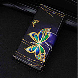 cheap -Case For Huawei P20 lite / P20 Card Holder / Wallet / with Stand Full Body Cases Butterfly Hard PU Leather for Huawei P20 lite / Huawei