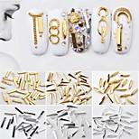Недорогие -10pcs Обычные Украшения для ногтей Формы для ногтей