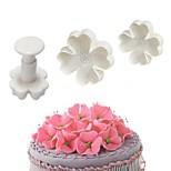Недорогие -Инструменты для выпечки пластик Своими руками / Креатив Для мороженого / Для торта / Cupcake Формы для пирожных