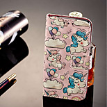 cheap -Case For Sony Xperia XZ2 / Xperia XZ2 Compact Card Holder / Wallet / with Stand Full Body Cases Unicorn Hard PU Leather for Sony Xperia