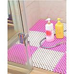 Недорогие -1шт Классика / Modern Коврики для ванны Пластик / ПВХ Геометрический принт Квадратный Ванная комната Non-Slip