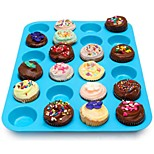 cheap -Bakeware tools Silicone Creative / DIY For Cookie / For Cupcake / For Chocolate Cake Molds / Dessert Tools 1pc