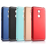 cheap -Case For Xiaomi Redmi 5 / Redmi 5 Plus Frosted Back Cover Solid Colored Hard PC for Xiaomi Redmi Note 5A / Xiaomi Redmi Note 4X / Xiaomi