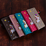 cheap -Case For Sony Xperia XZ2 / Xperia XZ2 Compact Card Holder / with Stand / Flip Full Body Cases Unicorn Hard PU Leather for Xperia XZ2 /