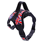 cheap -Dogs / Cats / Pets Harness Trainer / Walking / Adjustable / Retractable Leopard / Camouflage Color / Flag Nylon Red / Camouflage Color /