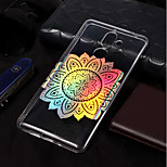 cheap -Case For Nokia Nokia 7 Plus / Nokia 6 2018 Plating / Pattern Back Cover Mandala Soft TPU for Nokia 7 Plus / Nokia 6 2018 / Nokia 1