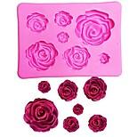 Недорогие -Инструменты для выпечки Силиконовый гель День Святого Валентина / 3D Для торта Формы для пирожных 1шт