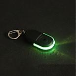 preiswerte -1pc LOVE LED-Nachtlicht Grün Rot Knopf Batteriebetrieben