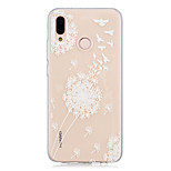 cheap -Case For Huawei P20 lite / P20 Transparent / Pattern Back Cover Dandelion Soft TPU for Huawei P20 lite / Huawei P20 Pro / Huawei P20