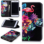 cheap -Case For Xiaomi Redmi Note 5A / Redmi 4X Wallet / Card Holder / with Stand Full Body Cases Flamingo Hard PU Leather for Xiaomi Redmi Note