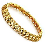 cheap -Men's Women's 1 Chain Bracelet - Fashion Geometric Gold Bracelet For Gift Daily