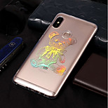 cheap -Case For Xiaomi Redmi Note 5 Pro / Redmi 5A Plating / Pattern Back Cover Animal Soft TPU for Xiaomi Redmi Note 5 Pro / Xiaomi Redmi 5