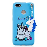 cheap -Case For Huawei P20 lite P20 Pattern DIY Back Cover Unicorn Soft TPU for Huawei P20 lite Huawei P20 P10 Lite P10 P9 lite mini P8 Lite