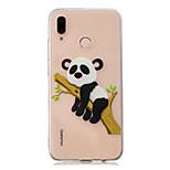 cheap -Case For Huawei P20 Pro / P10 Plus Transparent / Pattern Back Cover Panda Soft TPU for Huawei P20 lite / Huawei P20 Pro / Huawei P20