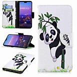 cheap -Case For Huawei P20 lite P20 Pro Card Holder Wallet with Stand Flip Pattern Full Body Cases Panda Hard PU Leather for Huawei P20 lite