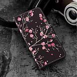 cheap -Case For Xiaomi Xiaomi Mi 6X / Mi 5X Card Holder / Wallet / with Stand Full Body Cases Flower Hard PU Leather for Xiaomi Mi 6X(Mi A2) /