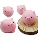 cheap -LT.Squishies Squeeze Toy / Sensory Toy / Stress Reliever Pig Stress and Anxiety Relief / Decompression Toys Others 4pcs Children's All