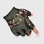 cheap -Gloves / Climbing Gloves / Sports Gloves Climbing / Cycling / Bike / Police / Military Shock Resistant / Adjustable Size / Breathable Nylon / Silica Gel / Breathable Mesh Mountain Bike / Outdoor