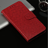 cheap -Case For Huawei P20 lite / P20 Pro Card Holder / with Stand / Flip Full Body Cases Solid Colored Hard PU Leather for Huawei P20 lite /