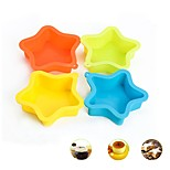 cheap -Bakeware tools Silicone Creative / DIY For Cupcake / For Chocolate / For Ice Cake Molds / Cookie Cutters 1pc