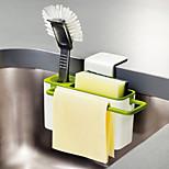 Недорогие -Кухонная организация Полки и держатели Пластик Новый дизайн / Аксессуар для хранения / Прост в применении 1шт