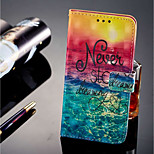 cheap -Case For Huawei P20 lite P20 Pro Card Holder Wallet with Stand Flip Magnetic Full Body Cases Scenery Hard PU Leather for Huawei P20 lite