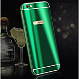 cheap -Case For OPPO Oppo R9s Plus Oppo R9s Plating Back Cover Solid Colored Hard Aluminium for OPPO R11 Plus OPPO R11 OPPO R9s Plus OPPO R9s