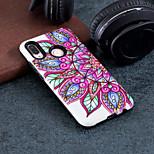 Недорогие -Кейс для Назначение Huawei P20 / P20 lite С узором Кейс на заднюю панель Цветы Твердый ПК для Huawei P20 / Huawei P20 lite / P10 Lite