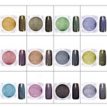 cheap -1 pcs Nail Glitter Glitters / Pastel Nail Art Design Daily