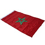 Недорогие -Праздничные украшения Спортивные мероприятия / Кубок мира Государственный флаг Марокко 1шт