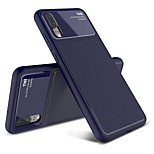 cheap -Case For Huawei P20 Pro / P20 Shockproof / Frosted Back Cover Solid Colored Soft TPU for Huawei P20 lite / Huawei P20 Pro / Huawei P20