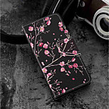 cheap -Case For Huawei P20 lite / P20 Card Holder / Wallet / with Stand Full Body Cases Flower Hard PU Leather for Huawei P20 lite / Huawei P20