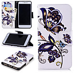 cheap -Case For Xiaomi Redmi Note 5A / Redmi 4X Wallet / Card Holder / with Stand Full Body Cases Butterfly Hard PU Leather for Xiaomi Redmi