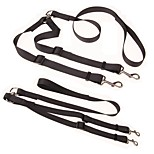 cheap -Dogs / Cats / Pets Leash Trainer / For Dog / Cat / Running Solid Colored Nylon Black