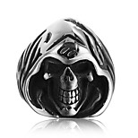 cheap -Statement Ring - Skull Fashion, Disco 7 / 8 / 9 Silver For Daily / Club