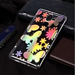 cheap -Case For Nokia Nokia 7 Plus / Nokia 6 2018 Plating / Pattern Back Cover Butterfly Soft TPU for Nokia 7 Plus / Nokia 6 2018 / Nokia 1
