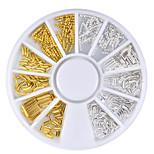 cheap -1pcs Nail Jewelry Metallic Special Design Casual / Daily Nail Art Design
