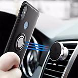 Недорогие -Кейс для Назначение Xiaomi Xiaomi Mi Mix 2S / Mi 6X Кольца-держатели Кейс на заднюю панель Однотонный Твердый ПК для Xiaomi Mi Mix 2 /
